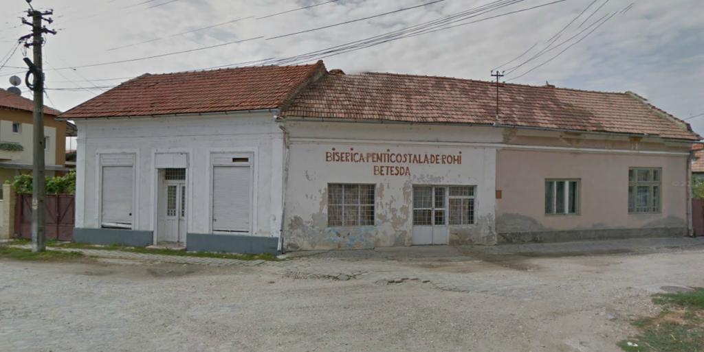 biserica penticostala de romi betesda ocna mures