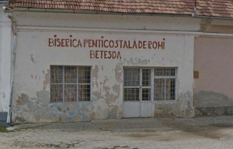 Biserica penticostala de Romi din Ocna Mures