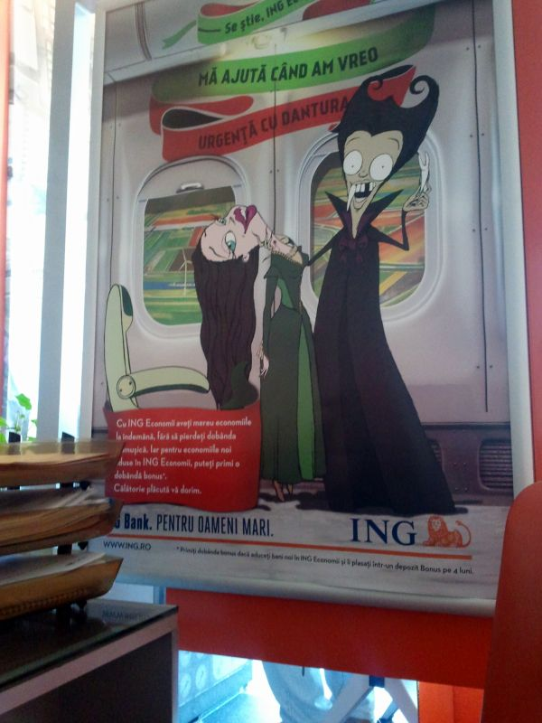 Dileala vampirilor loveste si ING Bank