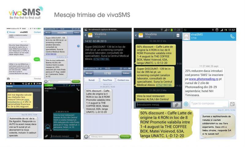 vivaSMS trimite deja o campanie de SMS pe zi