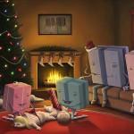 deschide cadoul oameni