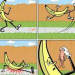 banana om alunecă
