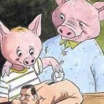 porcul bagî bani în om