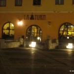 Turnul Sfatului Sibiu-restaurantul la turn noaptea