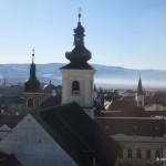 Turnul Sfatului Sibiu-vedere din turn