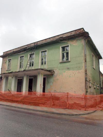 Casa Armatei Lipova – înainte de reabilitare (Imagine preluată de