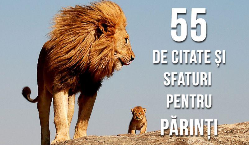 55 de citate și sfaturi pentru părinți și viitorii părinți