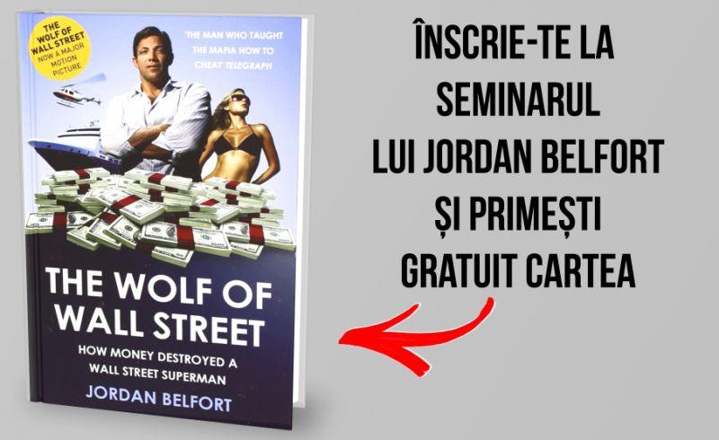 Primește Gratuit Cartea The Wolf Of Wall Street a lui Jordan Belfort
