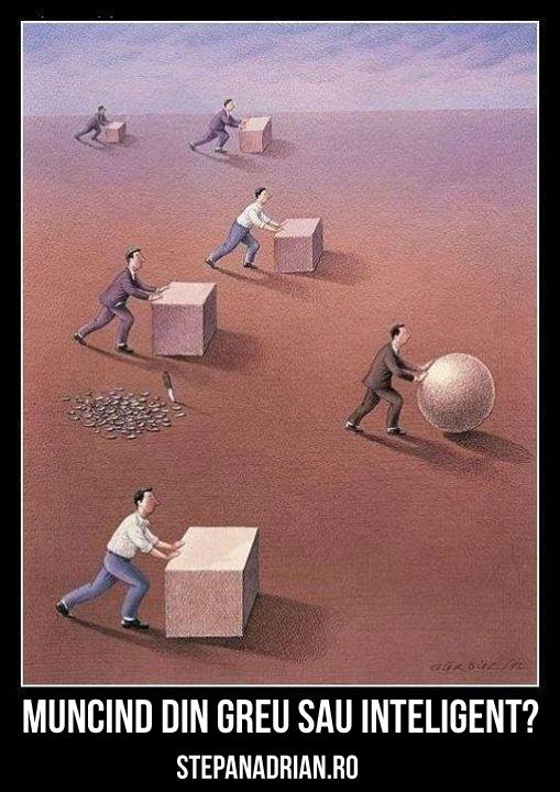 Alegi să muncești Inteligent sau din Greu?