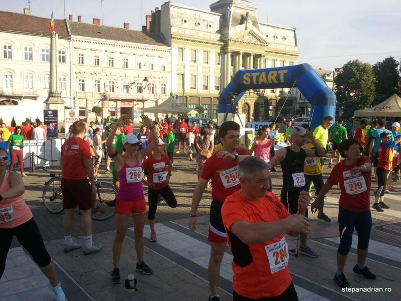 Impresii de la Maratonul, Semimaratonul și Crosul Aradului 2014