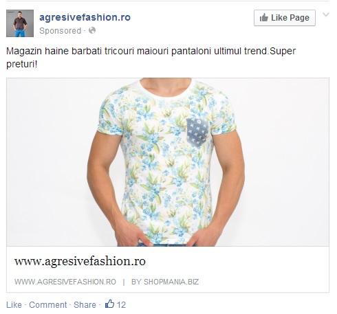 agresivefashion.ro tricou tapet flori