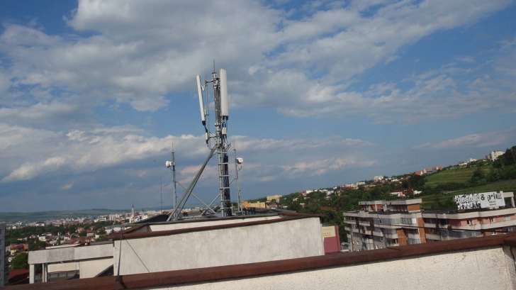 antena telefonie mobila bloc