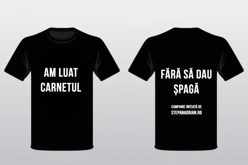 Tricoul pe care îl voi purta în ziua Examenului Auto