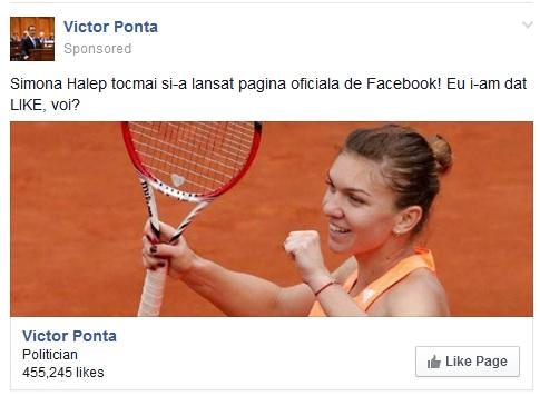 Manipulare Social Media à la Victor Ponta