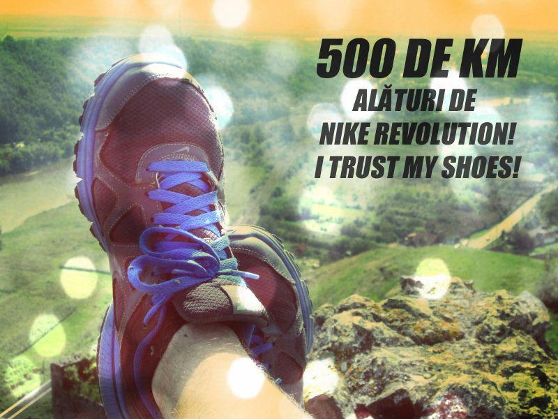 500 de KM alături de Nike Revolution!