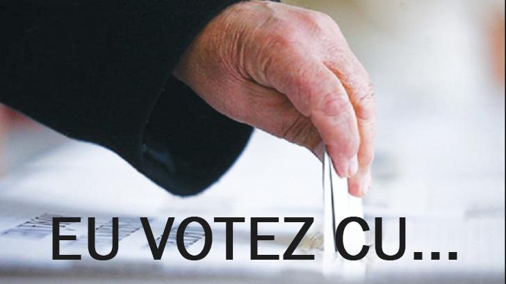 Eu votez cu…