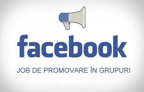 Vrei un Job de Promovare pe Facebook?