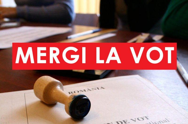 buletin de vot stampila