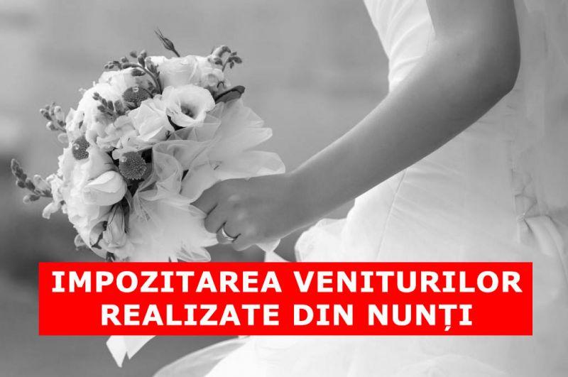 Lege privind impozitarea Veniturilor realizate la Nuntă