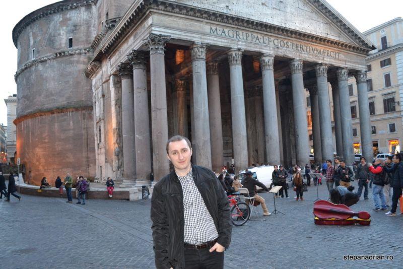panteon stepan adrian roma italia