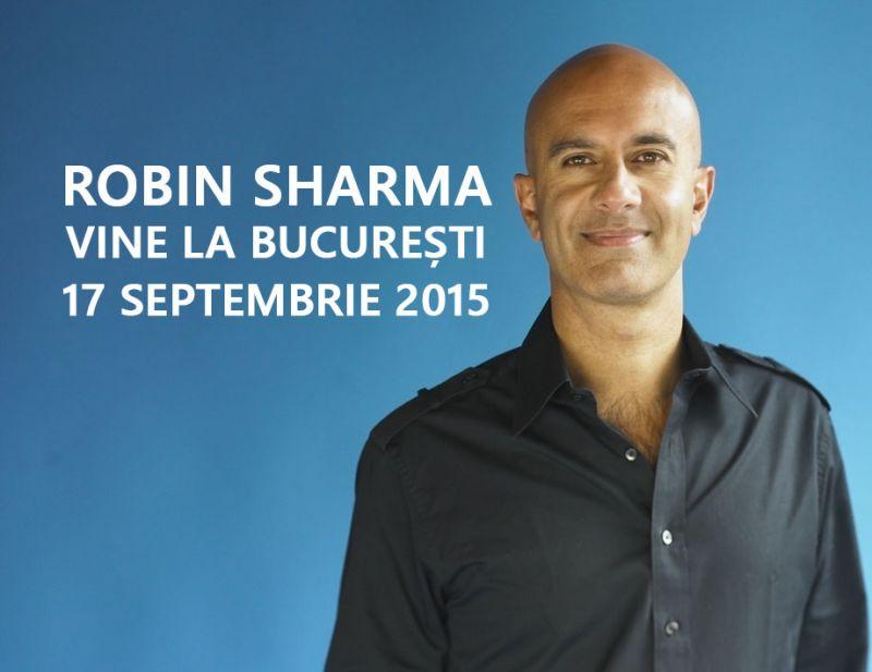 Robin Sharma la București – Evenimentul #1 de Business în 2015