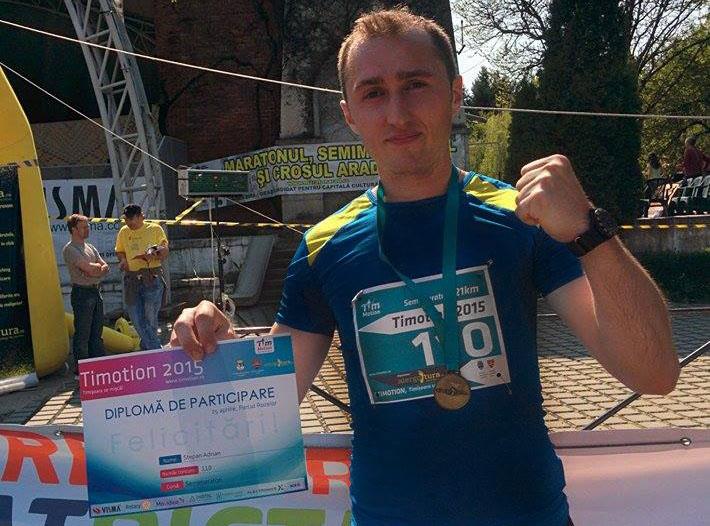 Timotion, primul meu Semimaraton Oficial