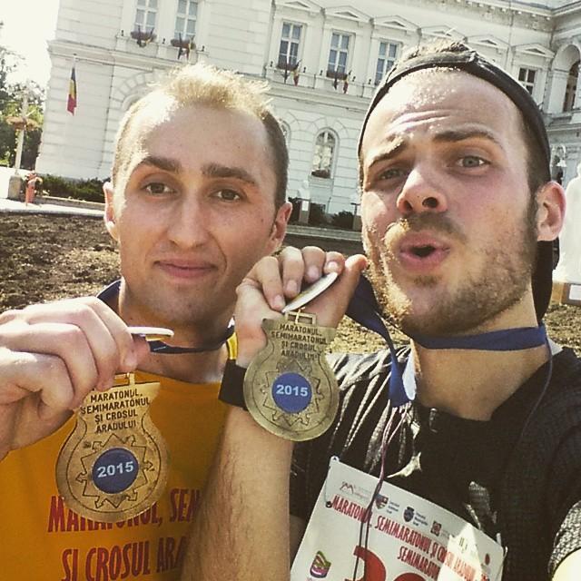 Maratonul, Semimaratonul și Crosul Aradului 2015