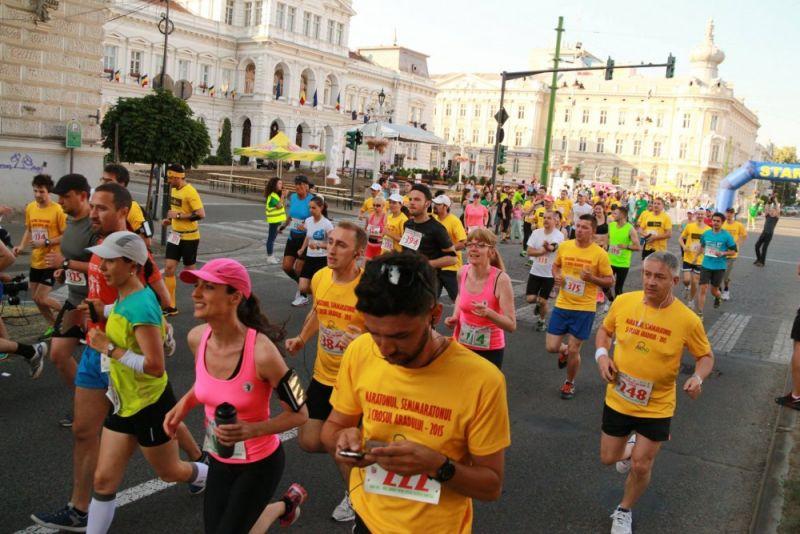 Maratonul Semimaratonul și Crosul Aradului 2015