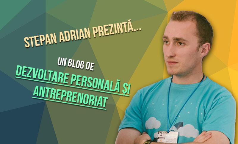 Despre autor – Stepan Adrian