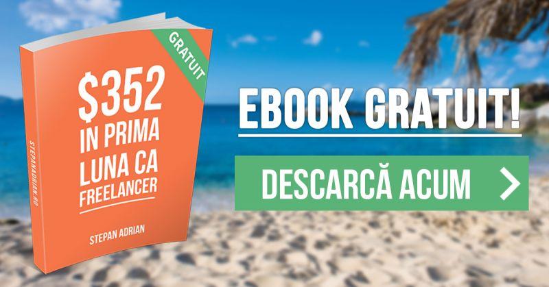 eBook GRATUIT: $352 în prima mea lună ca Freelancer