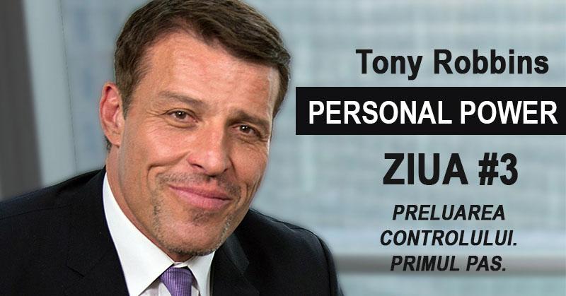 Tony Robbins Personal Power: Preluarea controlului. Primul pas (#3)