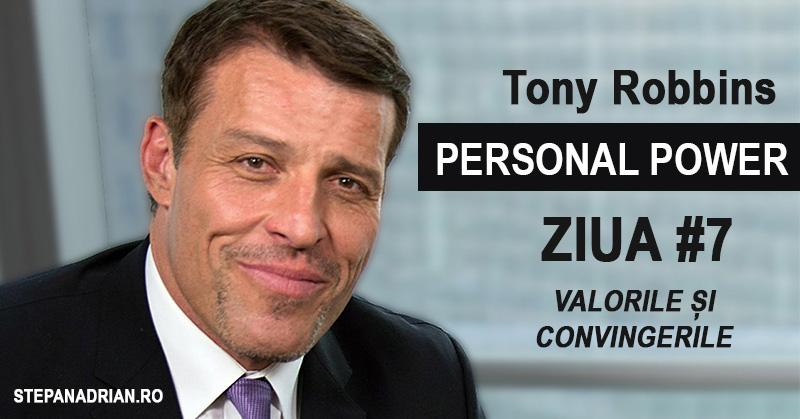 Tony Robbins Personal Power: Valorile și Convingerile (#7)