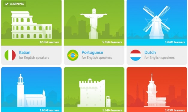 Învăț italiană gândind în engleză cu Duolingo