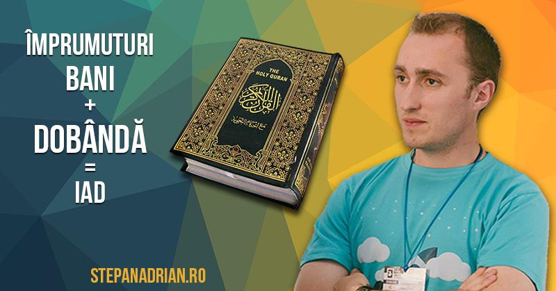 Coranul despre cei care percep dobândă la împrumuturi