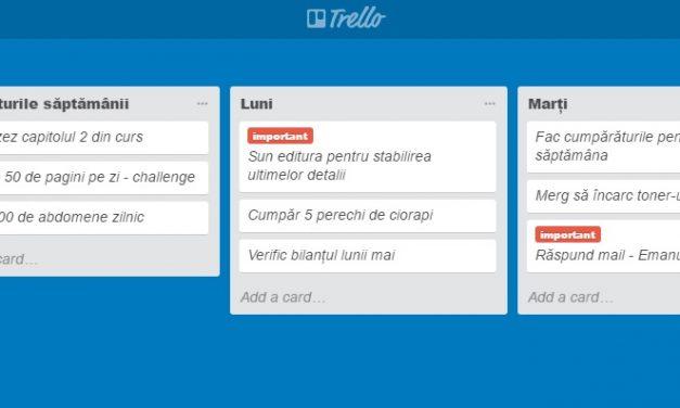 Cum mă organizez eficient sau Trello + Evernote = ❤