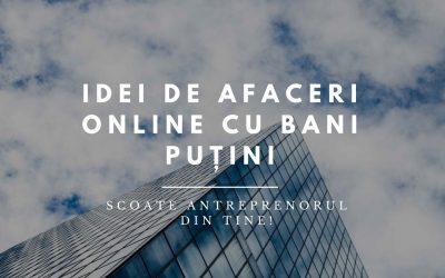 26 de Afaceri cu Bani puțini și Metode de a face Bani online în 2019