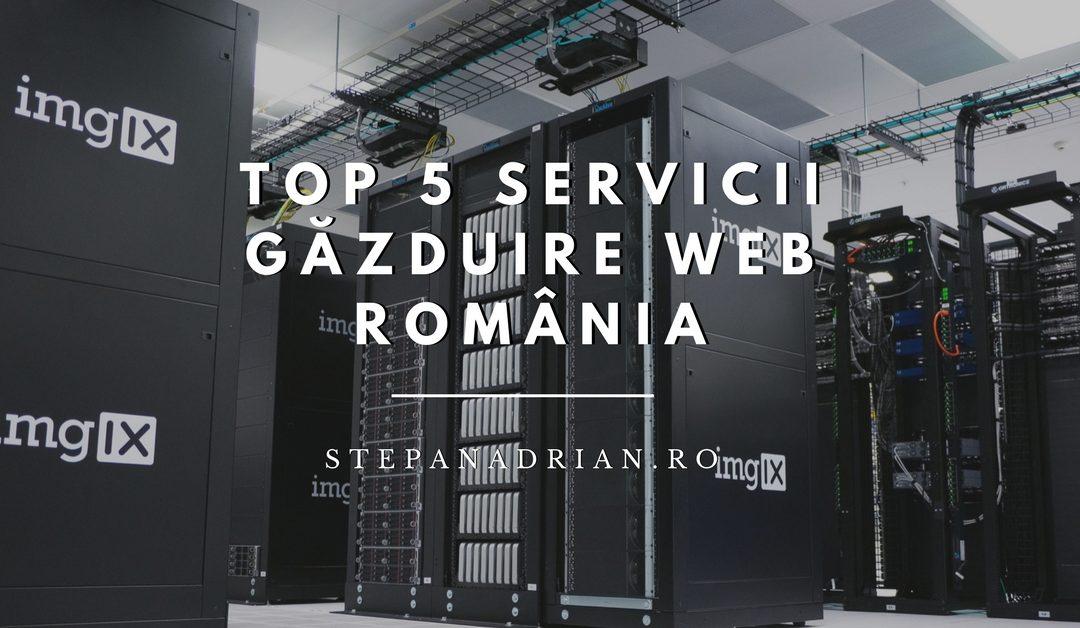 Top 5 Servicii de Găzduire Web din România – cu Avantaje și Dezavantaje